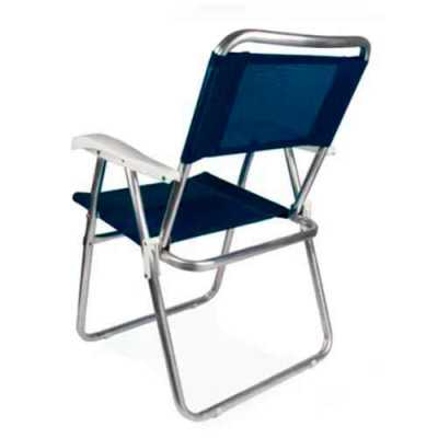 Cadeira Master Alumínio - Genialle Brindes & Personaliza...