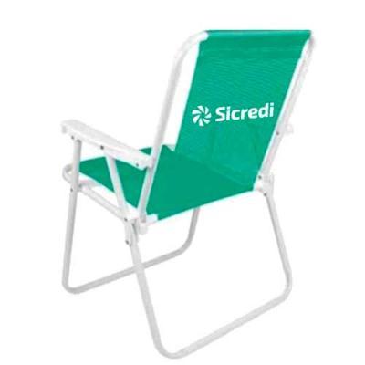 Cadeira Alta Aço