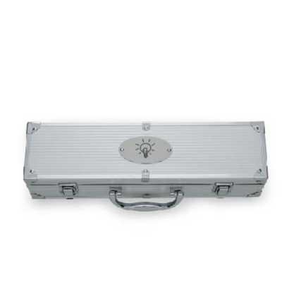 Kit Churrasco 5 peças em maleta de alumínio