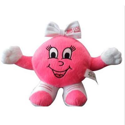 Mascote Personalizado rosa