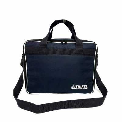 dandais-bolsas-promocionais - Mala para pequenas viagens, confeccionada em nylon 600, revestida com espuma e forro em nylon resinado,  abertura principal com zíper, bolso interno,...