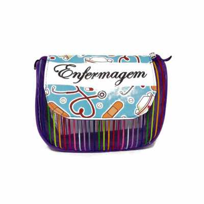 dandais-bolsas-promocionais - Necessaire confeccionada em tela