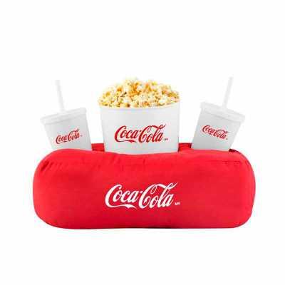 Material: oxford com enchimento em fibra siliconada ou PET, balde e copos em plástico. Cores almofada: Variadas. Cores balde e copos: Amarelo, azul, b... - WXZ BRINDES FABRICAÇÃO  PRÓPRI...