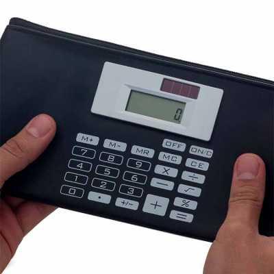 Carteira com Calculadora Personalizada - WXZ BRINDES FABRICAÇÃO  PRÓPRI...