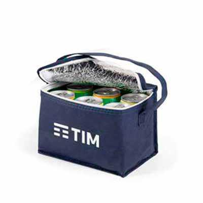 Bolsa térmica, non-woven de 80 g/m². Capacidade de 3 litros. Gravação: silk Fabricação própria te...