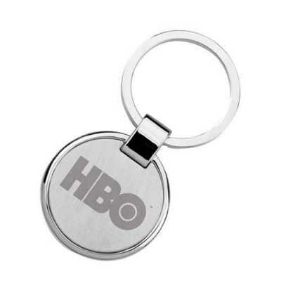 Chaveiro de metal redondo personalizado  Peso: 20g Dimensões: 3 cm diâmetro Matéria prima: metal Cor: prata Embalagem: individual Tipo de gravação: la... - WXZ BRINDES FABRICAÇÃO  PRÓPRI...