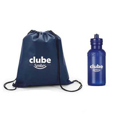 Kit fitness com mochila e garrafa - WXZ BRINDES FABRICAÇÃO  PRÓPRI...