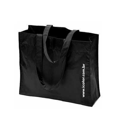 Sacola em nylon personalizada Gravação: silk Caso queira uma amostra virtual envie sua logo Vária...