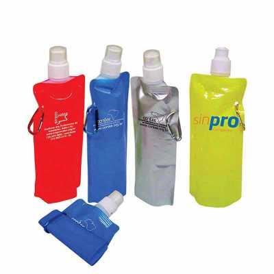 Squeeze Plástico  500 ml Gravação: Silk Caso queira uma amostra virtual envie sua logo - WXZ BRINDES FABRICAÇÃO  PRÓPRI...