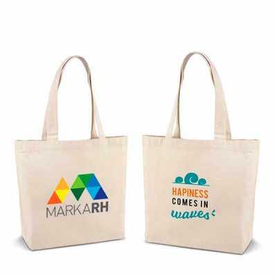 - Sacola ecológica ecobag 100% algodão: 180 g/m² promocional personalizada para eventos  alças de 65 cm. 46,0 x 40,0 x 10,5 mm GRAVAÇÃO: SILK