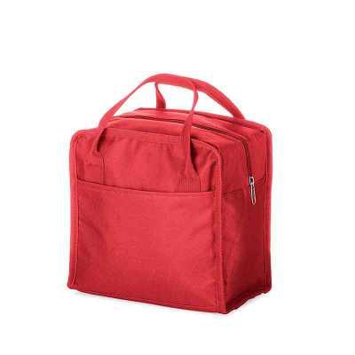 Bolsa térmica 7 litros em nylon com dois bolsos externos nas laterais, alça para mãos e revestimento interno térmico. Acompanha plaquinha para persona... - P&J Brindes
