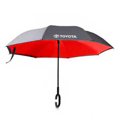 - Guarda-chuva invertido com forro interno. Tecido de nylon impermeável preto, possui um mecanismo inovador permitindo que o usuário não se molhe ao ent...