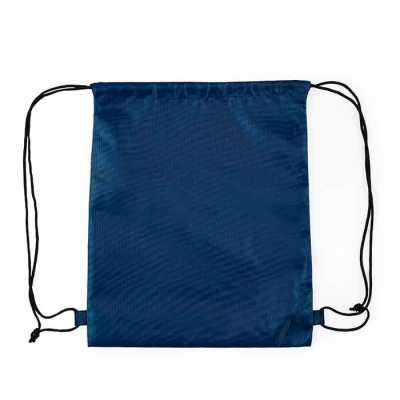 Mochila saco inteira colorida, com duas alças para costa, fechamento superior material em nylon. - P&J Brindes