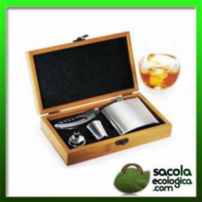 Brindes para Executivos Conjunto para Bar - Sacola Ecológica.COM