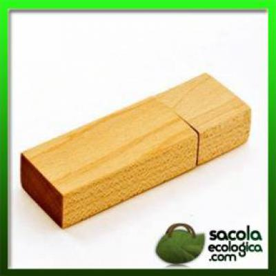 - Pen Drive de Madeira para Brindes, certamente nós da Sacola ecológica oferecemos excelentes produtos para a sua empresa e seus colaboradores. Desenvol...