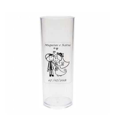 """- Copo Long Drink Personalizado  Personalize o seu copo """"long drink"""" para a sua festa! Personalização em Vinil  ( Translucido ou Leitoso )    A caneca l..."""
