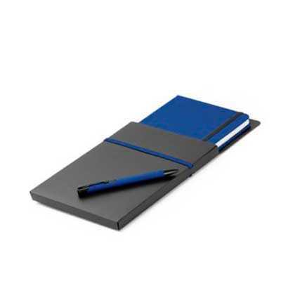 Kit de caderno e esferográfica - Italy Brindes
