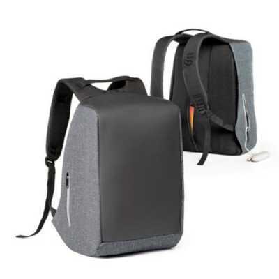italy-brindes - Mochila para notebook personalizado. 900D de alta densidade e tarpaulin. Sistema anti-roubo: compartimento principal com zíper oculto e parte posterio...
