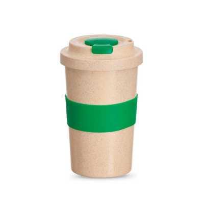 Copo Fibra de bambu personalizado - Clek Promocional