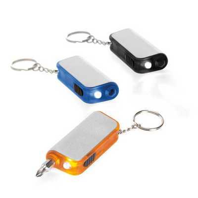 Chaveiro Com LED e ferramenta Incluso - Conecta Brindes
