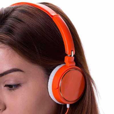 Fone de Ouvido Estéreo haste ajustável e fone giratório - Clark Brindes e Presentes Prom...