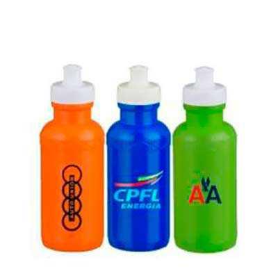 Squeeze Plástico personalizado - Brinde Forte