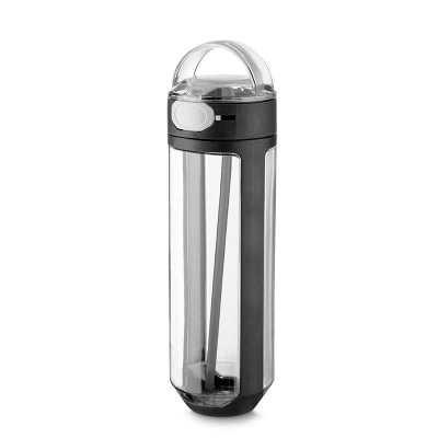 smr-brindes - Garrafa plástica 770ml com bico e trava de segurança