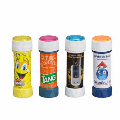 esp-brindes - Bolha de sabão personalizada