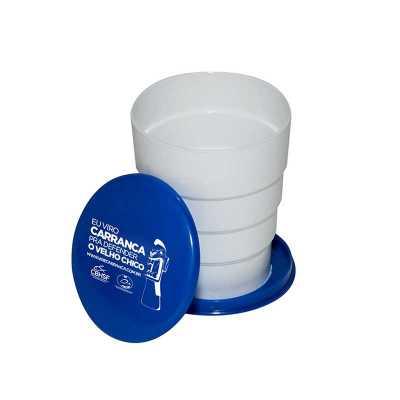 esp-brindes - Copo sanfonado personalizado