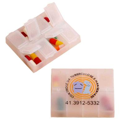 Porta Comprimido Plástico Personalizado Com Várias Cavidades