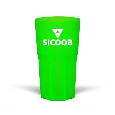 Copo neon 380 ml - Unictech Brindes Promocionais