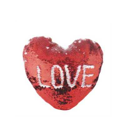 Almofada mágica em formato de coração