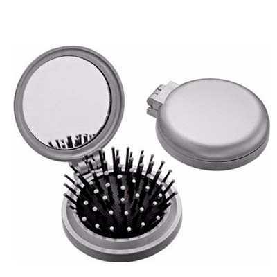 Escova com espelho redonda - Z3 BRINDES