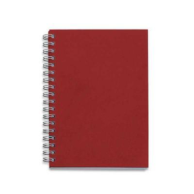 Caderno capa Kraft Promocional