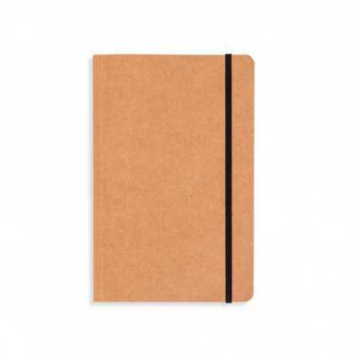 Caderneta promocional papel kraft