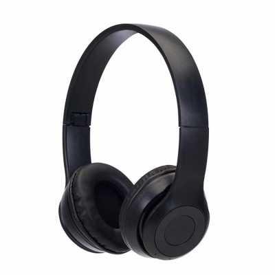 Fone de ouvido bluetooth com pintura fosca e rádio FM