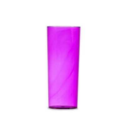 Copo long drink 330ml em acrílico translúcido