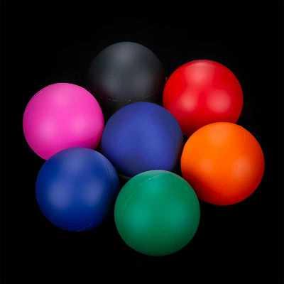 Bolinha anti stress emborrachada colorida