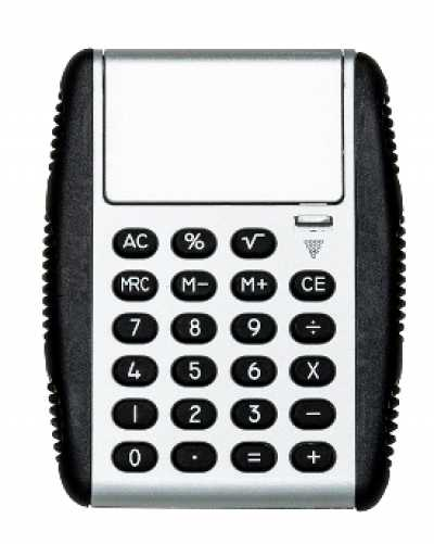 Calculadora Emborrachada - Quality Bolsas e Brindes