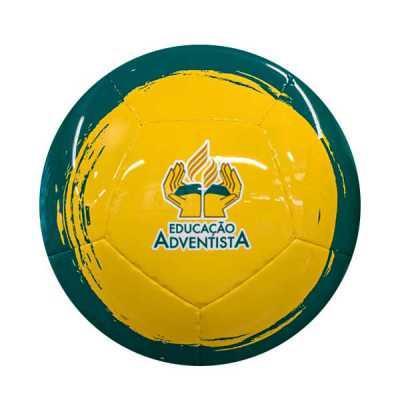 - Bola futebol de campo 12 gomos personalizada  Com o modelo de bola de futebol de 12 gomos (costurada à mão) conseguimos trabalhar com a modalidade fut...