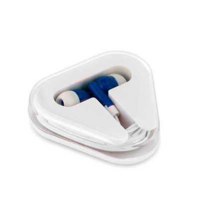 Fone de ouvido fornecido em caixa