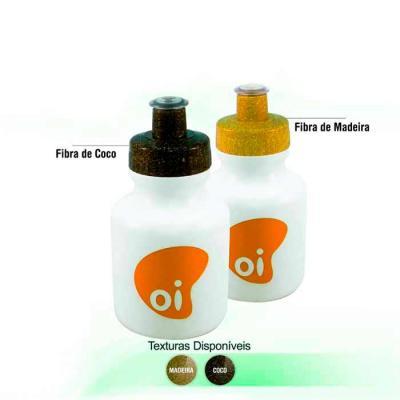 Squeezes personalizado em PE resistente e flexível, tampa rosqueável feita com 50% de Fibra Natur...
