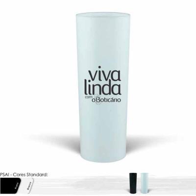 Copo Long drink personalizado de 330ml, alta qualidade, material prima de alto brilho, parede de ...