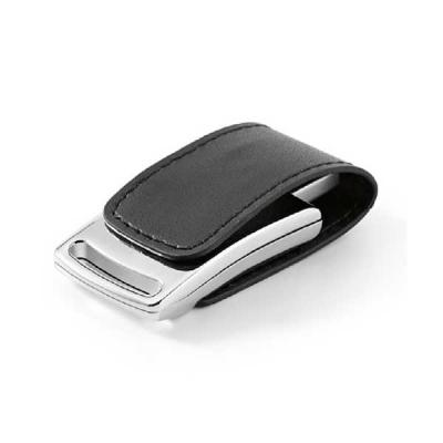 Pen drive Couro sintético