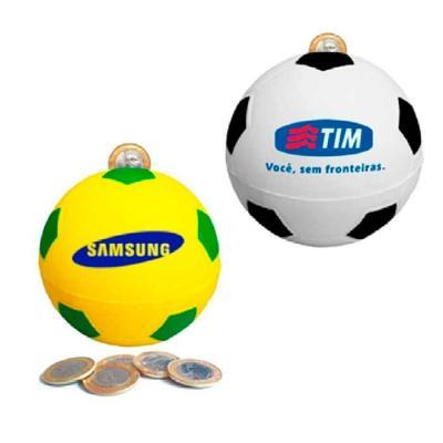 Cofre bola de futebol personalizada