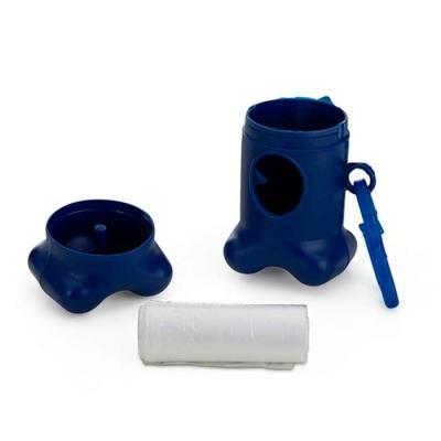 Kit saquinho coletor em formato de osso. Produzido em material plástico, o kit possui abertura la...