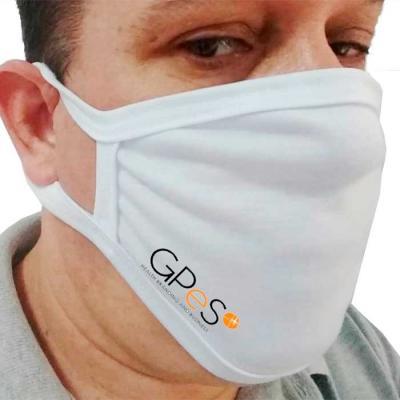 Máscara de Proteção 100% algodão personalizada.