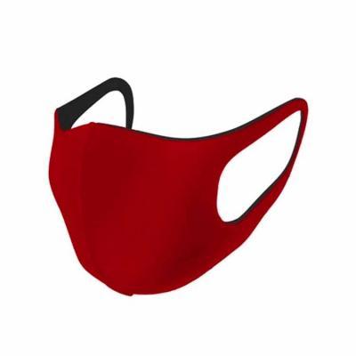 Máscara anatômica reutilizável, produzida em duas camadas de poliéster e uma camada filtrante em ...