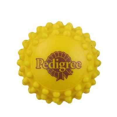 Bolinha anti stress personalizada no formato de cravinho. Em vinil, com diversas cores e personal...