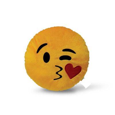 Almofada Emoticon. Disponível em diversos modelos. Diâmetro de 30cm.
